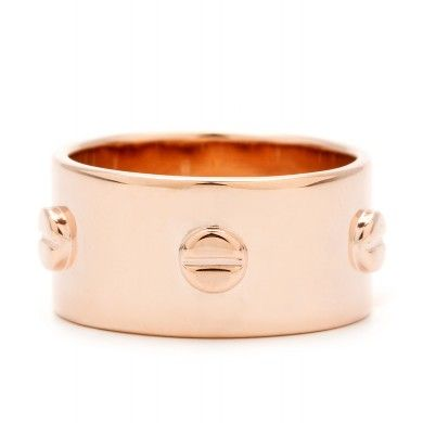 Gorjana Griffin Rose Gold Chaplin Ring