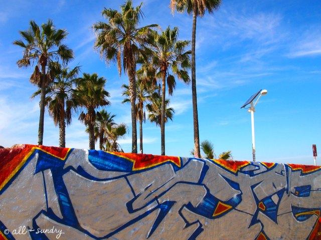 Venice Beach graffiti