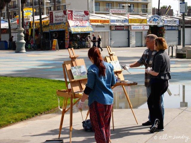 Venice Beach Artists