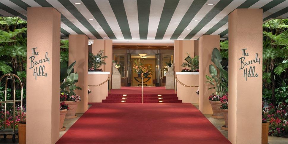 Beverly Hills Hotel Entrance