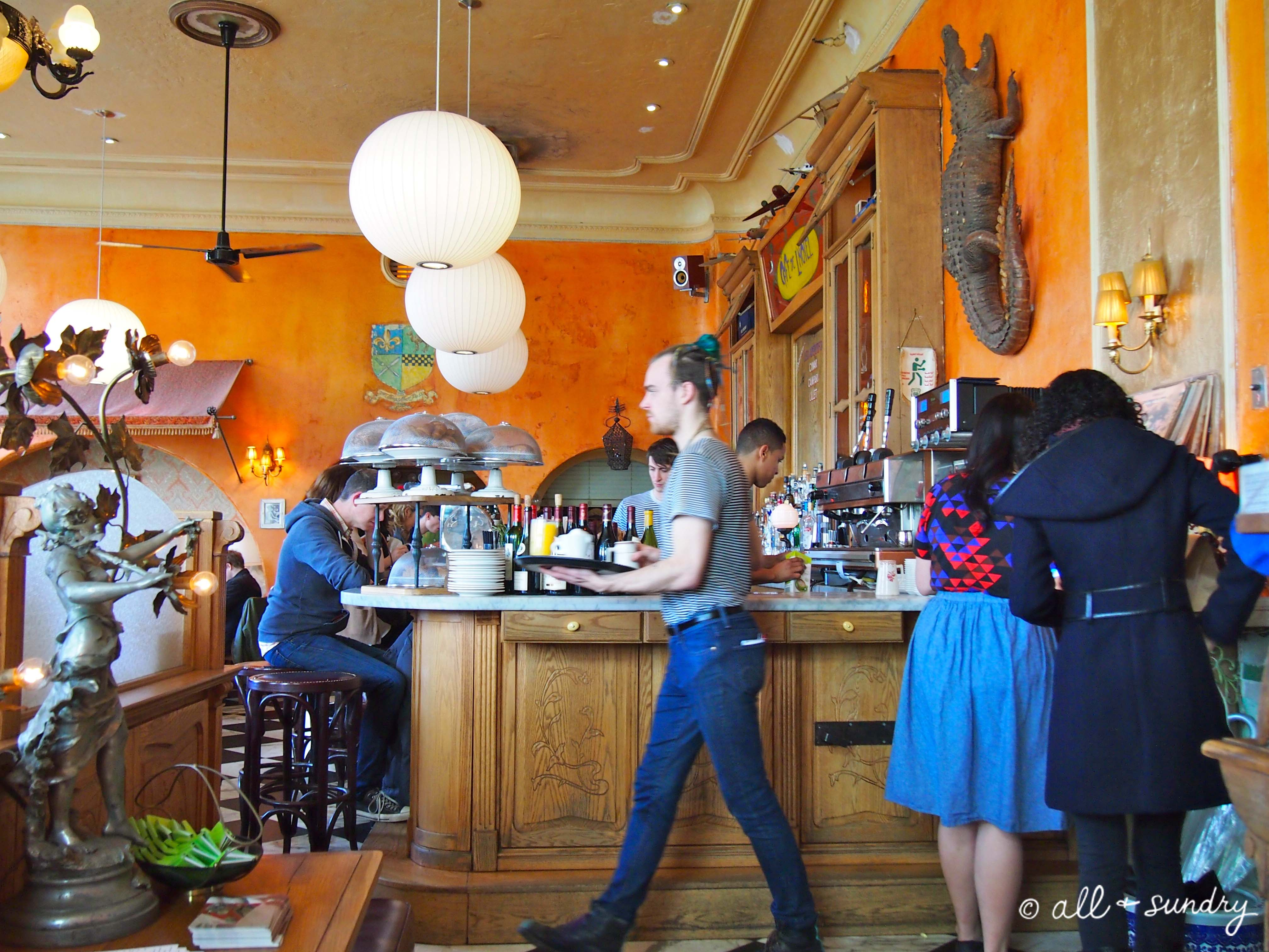 Brunch at Cafe Gitane