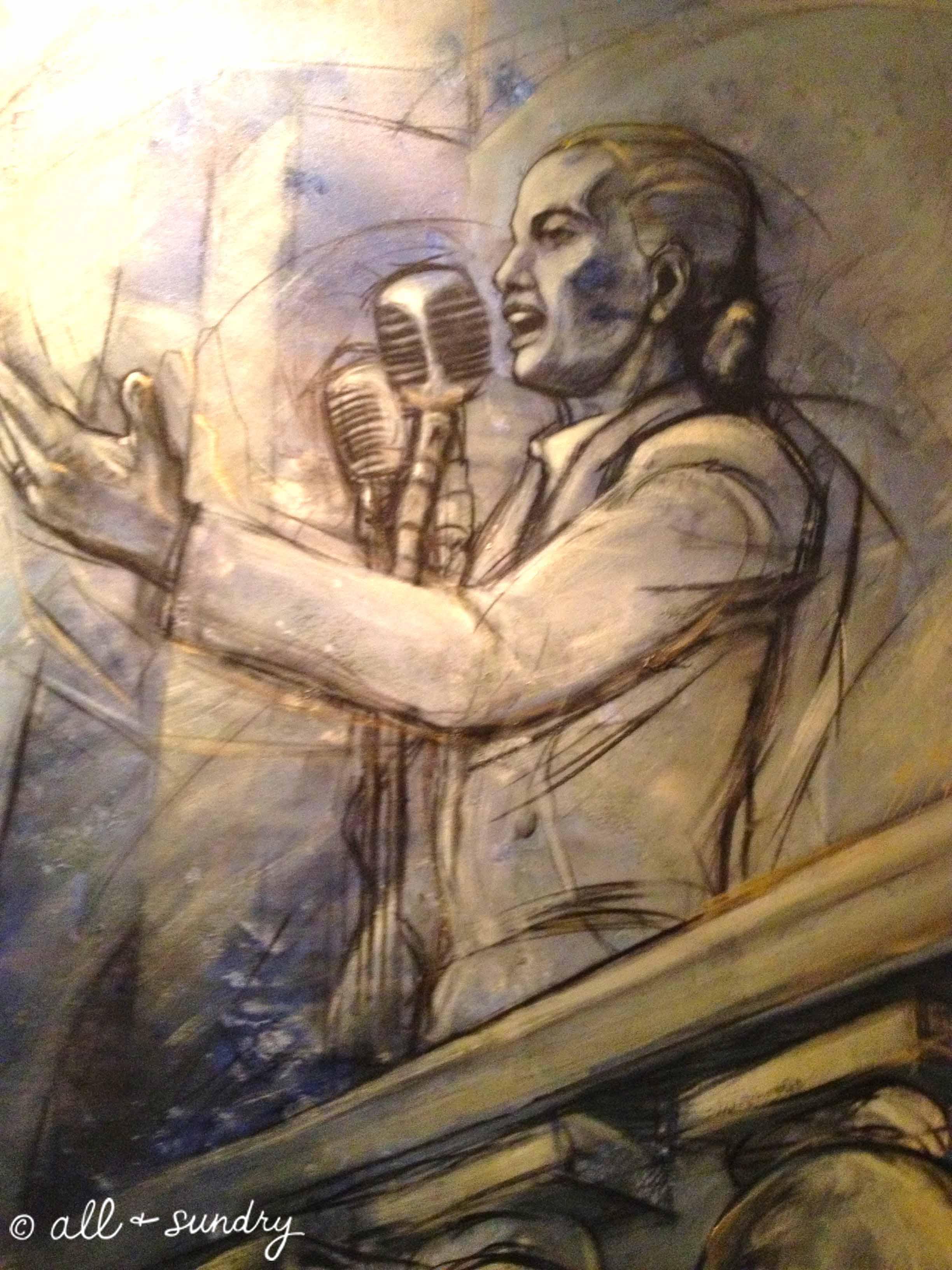 Evita painting